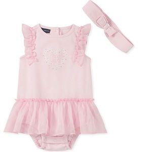 Calvin Klein Toddler SUNsuit w/ headband